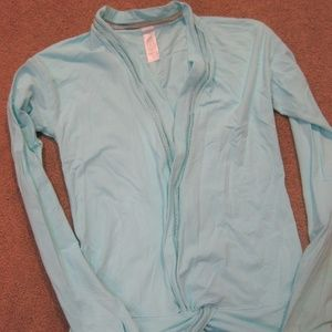 Ivivva Own the Move Shrug Top Light Frost Size 14